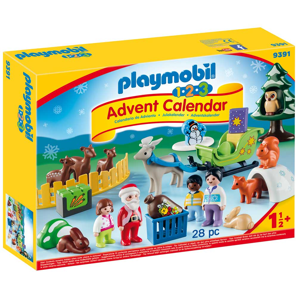 Playmobil 123 Advent Calendar - Christmas in the Forest ...