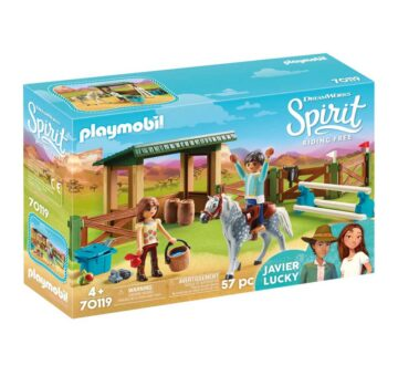 Playmobil Riding Arena With Lucky & Javier 70119