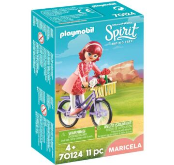 Playmobil Maricela with Bicycle