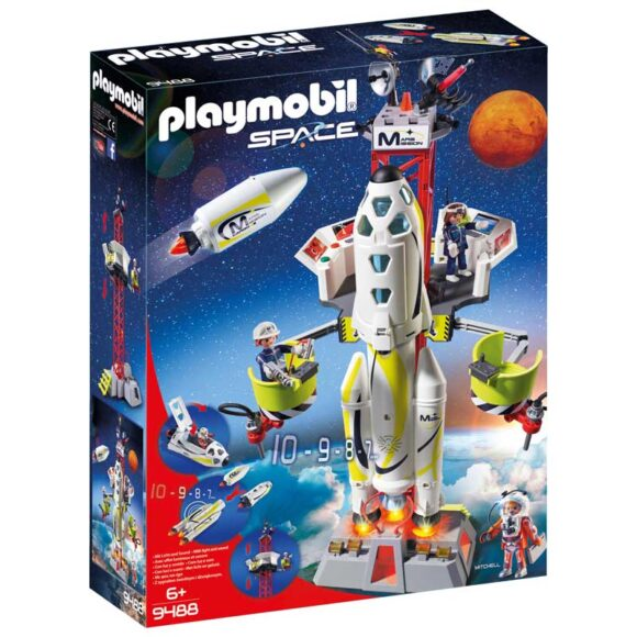 Playmobil Mission Rocket With Launch Site 9488