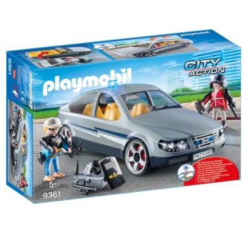 Playmobil Tactical Unit Undercover Car 9361