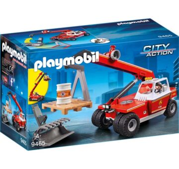 Playmobil Fire Crane 9465
