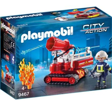 Playmobil Fire Water Canon 9467