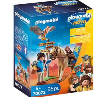Playmobil: The Movie - Marla With Horse 70072