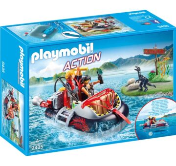 Playmobil Dino Hovercraft With Underwater Motor 9435