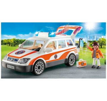 Playmobil Emergency Car with Siren 70050
