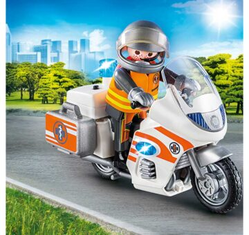 Playmobil Emergency Motorbike 70051