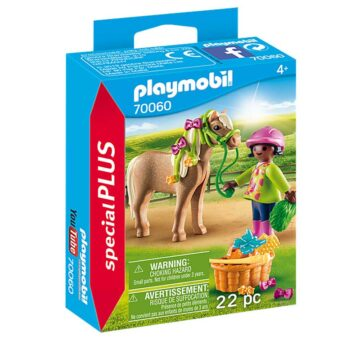 Playmobil Special Plus - Girl With Pony 70060
