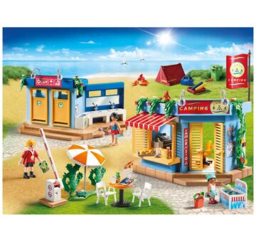 Playmobil Large Campground 70087