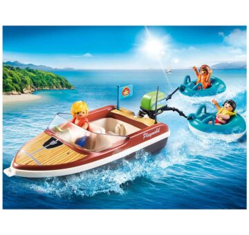 Playmobil Speedboat With Tube Riders 70091