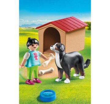 Playmobil Dog With Doghouse 70136