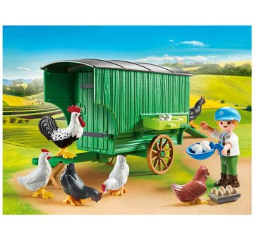 Playmobil Chicken Coop 70138
