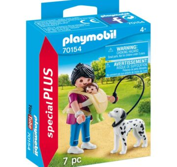 Playmobil Special Plus - Mother With Baby And Dog 70154