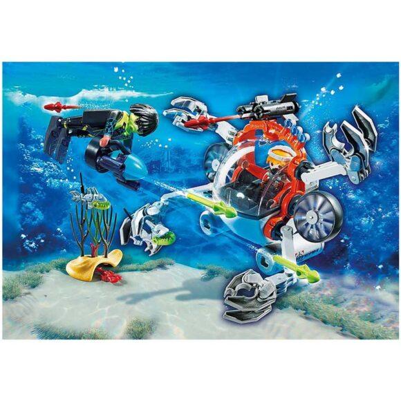 Playmobil SPY TEAM Sub Bot 70003