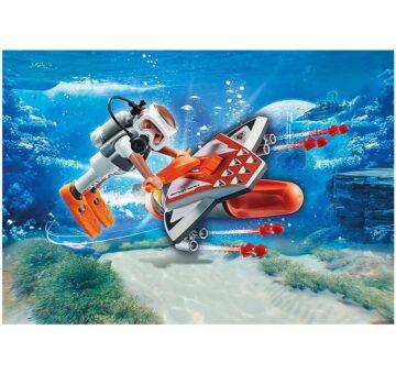 Playmobil SPY TEAM Underwater Wing 70004
