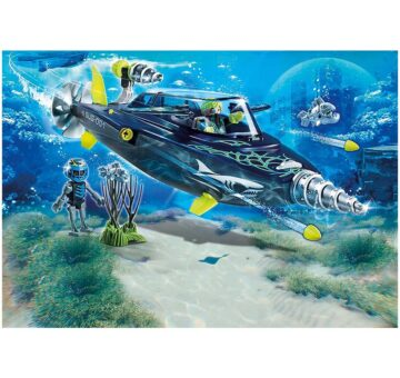 Playmobil TEAM S.H.A.R.K. Drill Destroyer 70005
