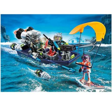Playmobil TEAM S.H.A.R.K. Harpoon Craft 70006