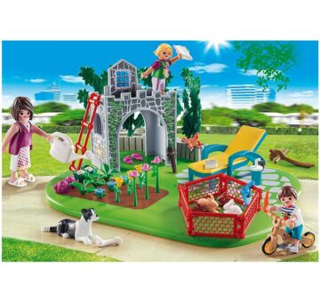 Playmobil Family Garden SuperSet 70010