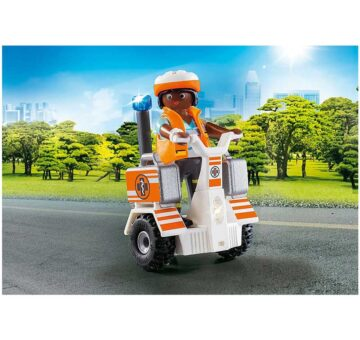Playmobil Rescue Balance Racer 70052