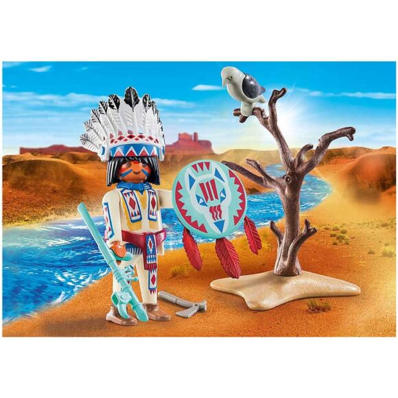Playmobil Special Plus - Native American Chief 70062