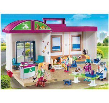 Playmobil Take Along Vet Clinic 70146