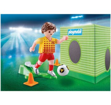 Playmobil Special Plus - Soccer Player With Goal 70157