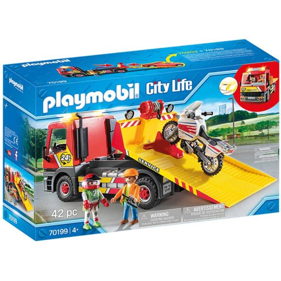 Playmobil Towing Service 70199