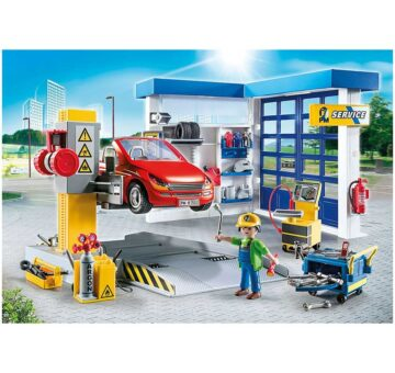 Playmobil Car Repair Garage 70202