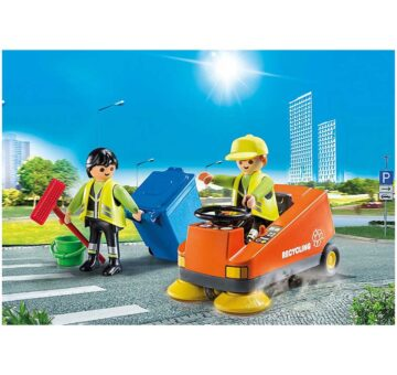 Playmobil Street Sweeper 70203