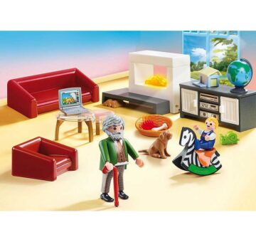 Playmobil Comfortable Living Room 70207