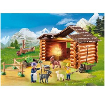 Playmobil Peter's Goat Stable 70255