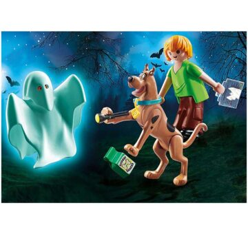 Playmobil SCOOBY-DOO! Scooby And Shaggy With Ghost 70287