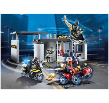 Playmobil Take Along Tactical Unit Headquarters 70338