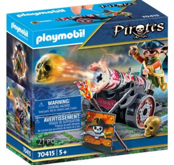 Playmobil Pirate With Cannon 70415