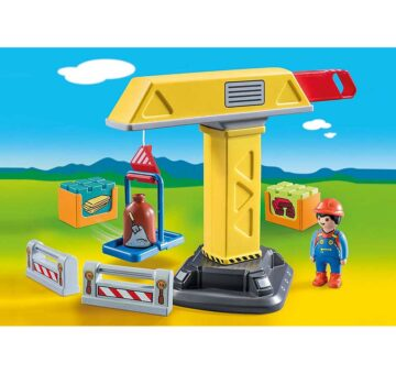 Playmobil 123 Construction Crane 70165