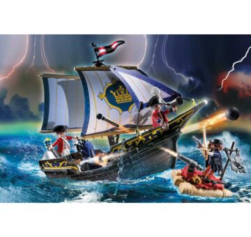 Playmobil Redcoat Caravel 70412