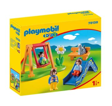 Playmobil 123 Children's Playground 70130