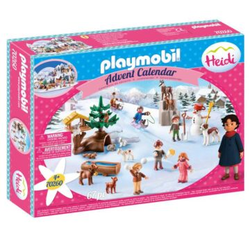 Playmobil Advent Calendar - Heidi 70260