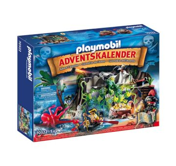Playmobil Advent Calendar - Pirate Cove Treasure Hunt 70322