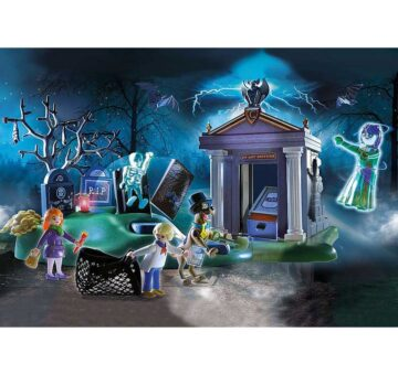 Playmobil SCOOBY-DOO! Adventure In The Cemetery 70362