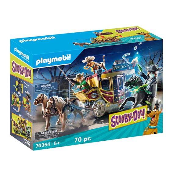 Playmobil SCOOBY-DOO! Adventure In The Wild West 70364