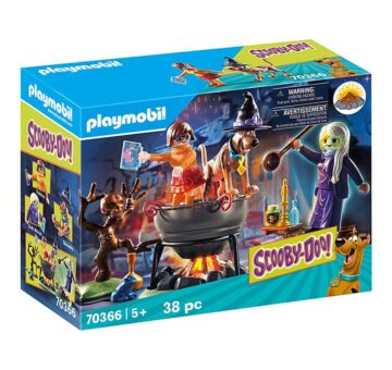 Playmobil SCOOBY-DOO! Adventure In The Witch's Cauldron 70366