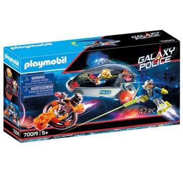 Playmobil Galaxy Police Glider 70019
