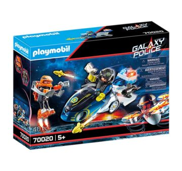 Playmobil Galaxy Police Bike 70020
