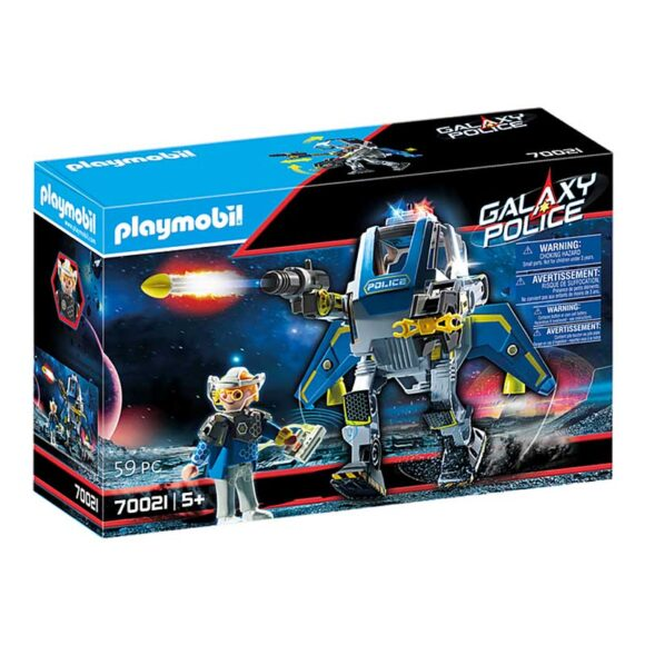 Playmobil Galaxy Police Robot 70021