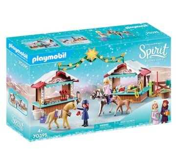 Playmobil Christmas Market 70395