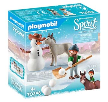 Playmobil Snow Time With Snips And Señor Carrots