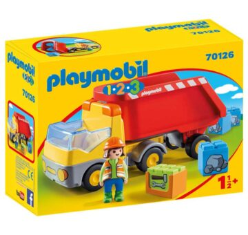 Playmobil 1.2.3 Dump Truck 70126