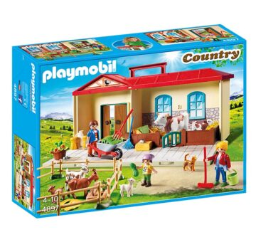 Playmobil Take Along Farm 4897