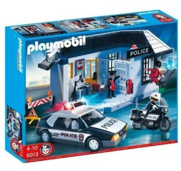 Playmobil Complete Police Set 5013
